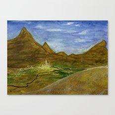 Fictional Landscape III Canvas Print