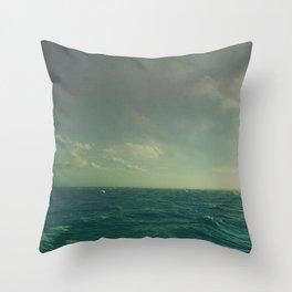 Limitless Sea Throw Pillow