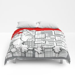 strathcona village attack Comforters