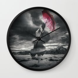 Storm Clouds Gather Wall Clock