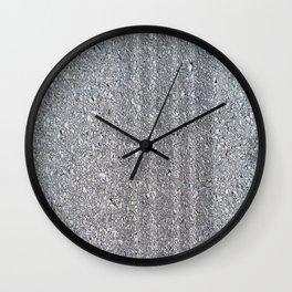 TIRE SKID Wall Clock