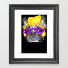 I love nacho! Framed Art Print