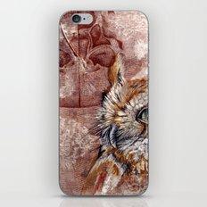 Human Owl iPhone & iPod Skin
