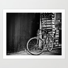 The Bicycle Art Print