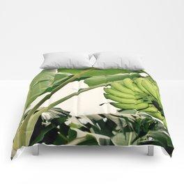 Costa Rican Bananas Comforters