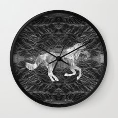 Ciel du Cheval Wall Clock