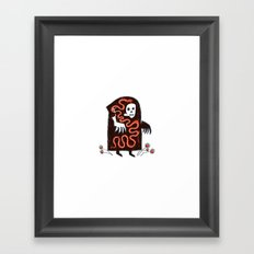 The Effects of Capitalism on Creation Framed Art Print