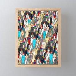 Bowie-A-Thon Framed Mini Art Print