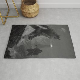 The lighthouse keeper Rug