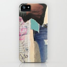 Ripped Jeans iPhone Case