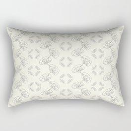 Garden Floral Chain Rectangular Pillow