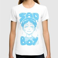 T-shirts featuring SAD BOY by Rainy Studios