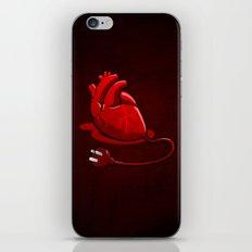 Unplug my Heart iPhone & iPod Skin