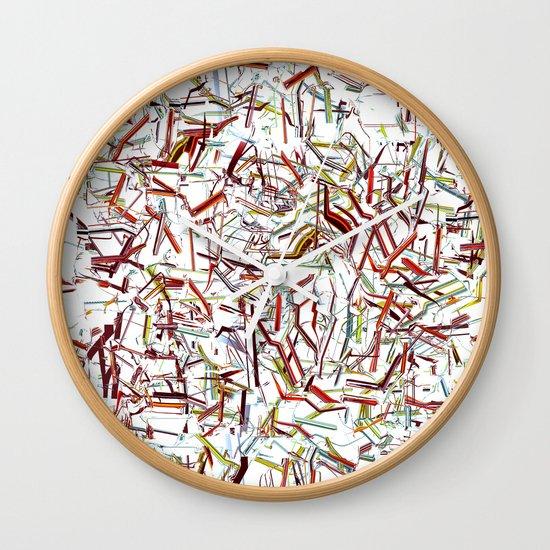 Rayitas Wall Clock