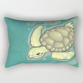 Tortuga! Rectangular Pillow
