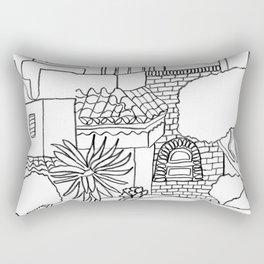 Garden Of Malaga Rectangular Pillow