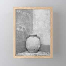 Earthen Vessel Framed Mini Art Print