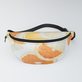 citrus fresh orange twist Fanny Pack