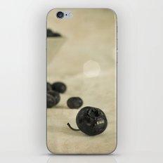 blue berries iPhone & iPod Skin