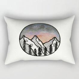 Three peaks I Rectangular Pillow