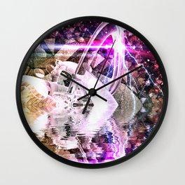 Abstract Rivers Wall Clock