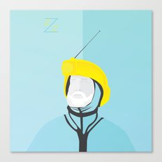 Zissou - The Life Aquatic Canvas Print