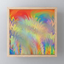The Burning Framed Mini Art Print