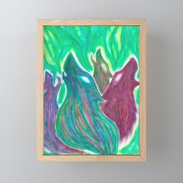 The wonder Framed Mini Art Print