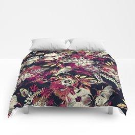 Space Garden II Comforters