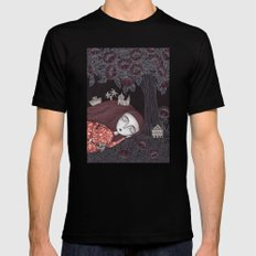 Tree of Forever Dreams 2X-LARGE Black Mens Fitted Tee