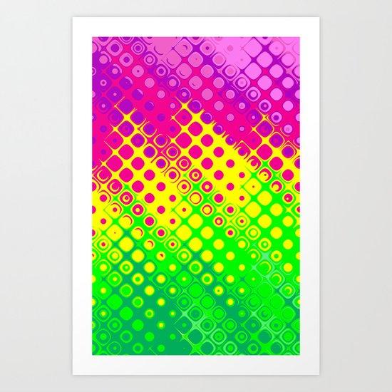Confused Bubbles.  Art Print