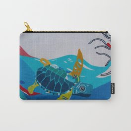 Balinese Sea Turtles Carry-All Pouch