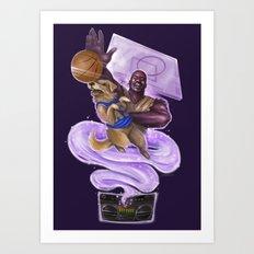 Kazaam vs. Air Bud (Ver. 2.0) Art Print