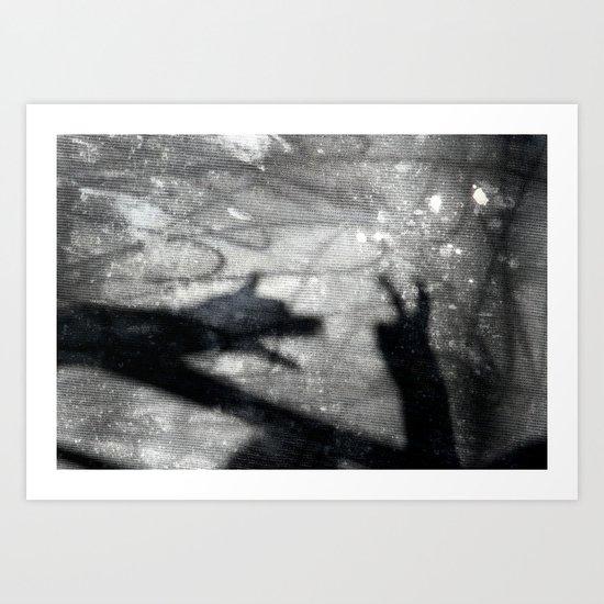 shadow play Art Print