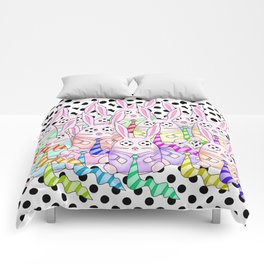 Life Between the Dots Comforters