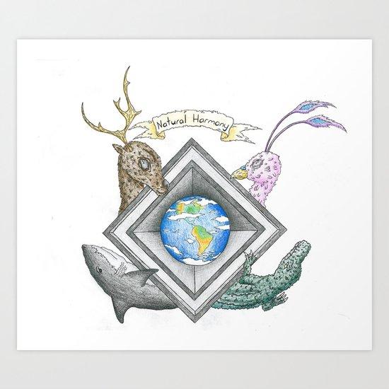 Natural Harmony Art Print