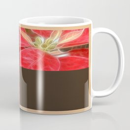 Mottled Red Poinsettia 1 Ephemeral Blank Q3F0 Coffee Mug