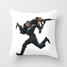 Dammit Steve Throw Pillow