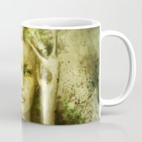 norway Mugs featuring Norway by Holly Carton