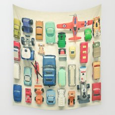 Free Parking Wall Tapestry