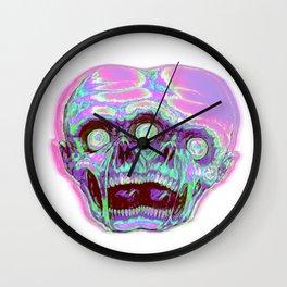 Siamese zombie Wall Clock