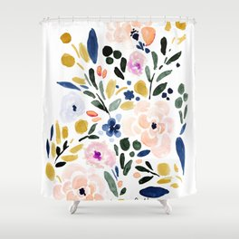 Sierra Floral Shower Curtain