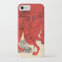 catcher in the rye iPhone & iPod Cases featuring Catcher by Julia Lopez