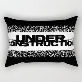 Under Construction Ground Rectangular Pillow