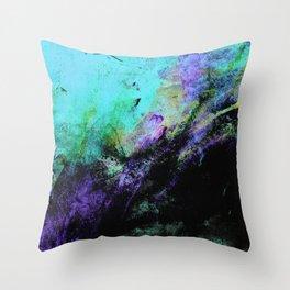 STORMY BLACK v2 Throw Pillow