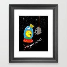 Possible Love Framed Art Print