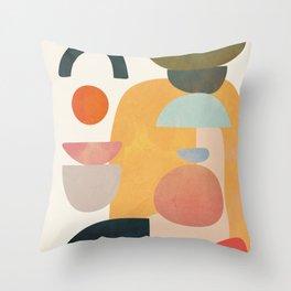 Modern Abstract Art 70 Throw Pillow