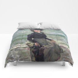 Paddle Petermannchen - Lovis Corinth Comforters