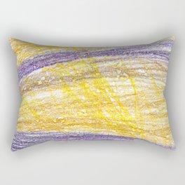 Sunset Lightroom Colored Pencils Rectangular Pillow