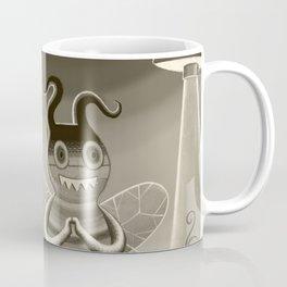 bee movie noir Coffee Mug